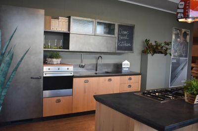 Una cucina dallo stile moderno
